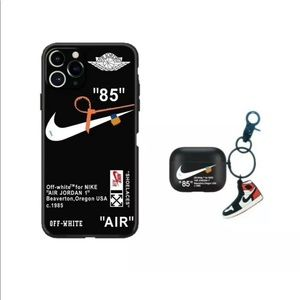 Nike iPhone case and AirPod case